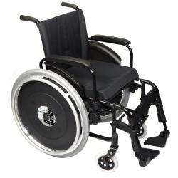 Cadeira De Rodas Alumínio Avd Sem Elevação Panturrilha Ortobras