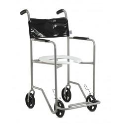 Cadeira Sanitária e de Banho Pop Aço Simples Jaguaribe