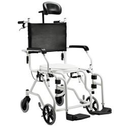 Cadeira Rodas Banho Alumínio Reclinável 2015 Jaguaribe