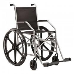 Cadeira De Rodas Aço Simples Pneu Maciço Jaguaribe