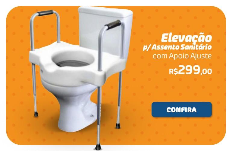 Elevação para assento sanitário